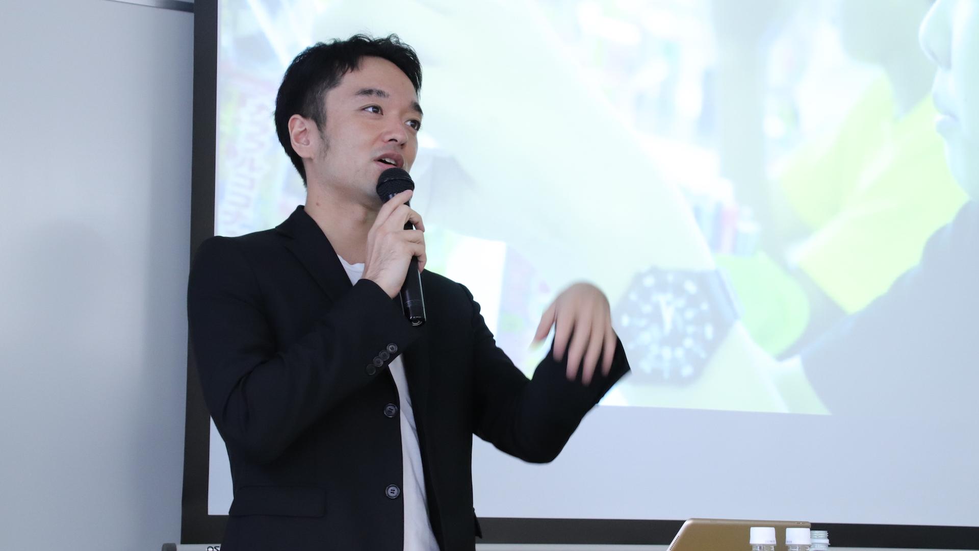 早稲田大学での講義の様子