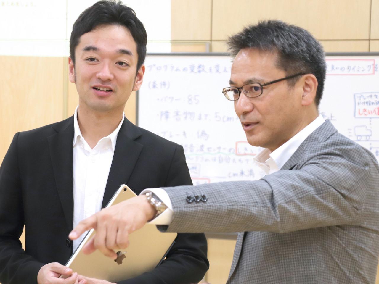 麹町中学校工藤校長とCOMPASS神野の対談